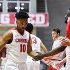 Matt Morgan ends his career as Cornell's all-time points leader.