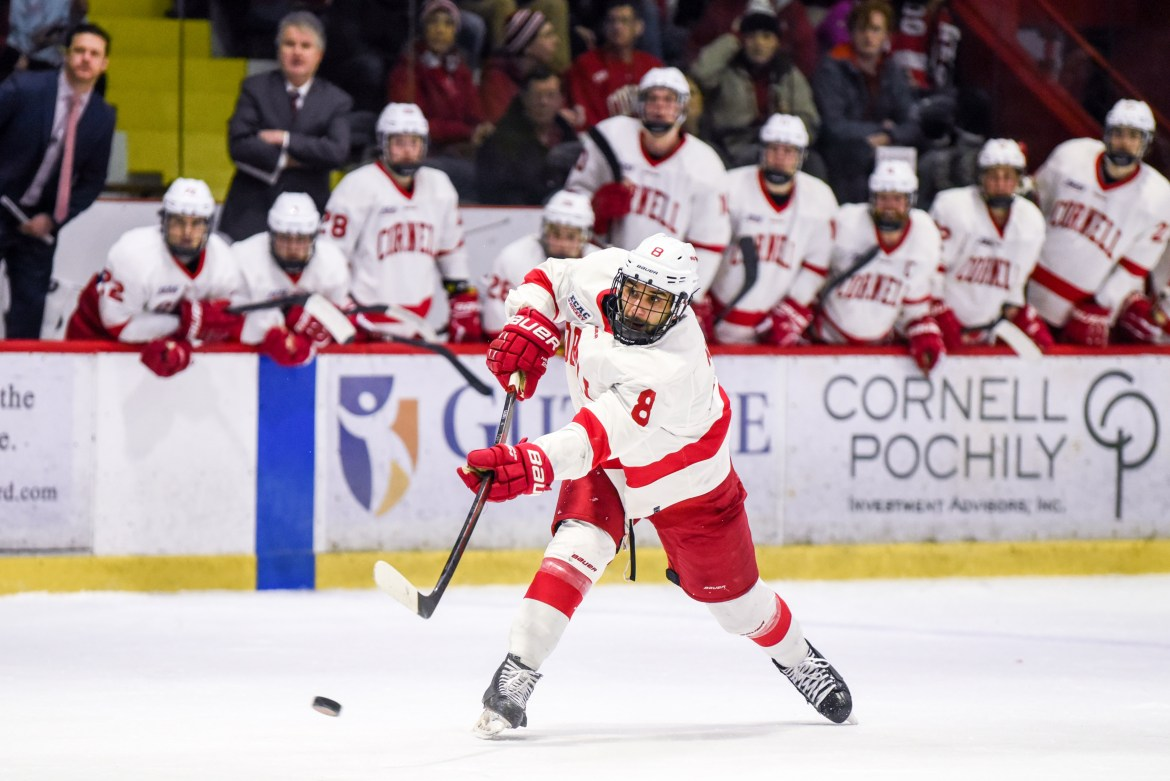 Cornell's regular-season record isn't as strong as last year's. But it's a whole new season heading into the playoffs.