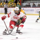 Unlike in its comeback semifinal victory, Cornell couldn't overcome a two-goal deficit in the championship game, losing 4-1 to Clarkson.