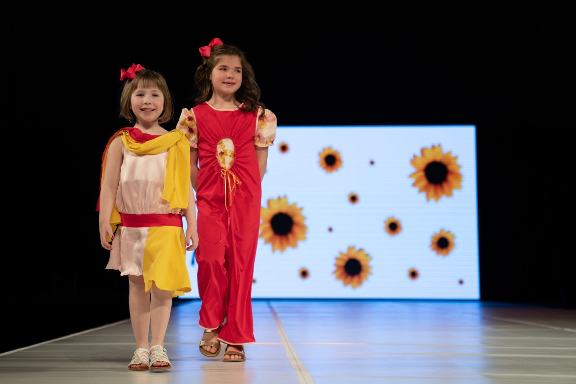 Student designers and models showcase their talents at the 35th annual CFC runway show in Barton Hall on Saturday March 11, 2019.
