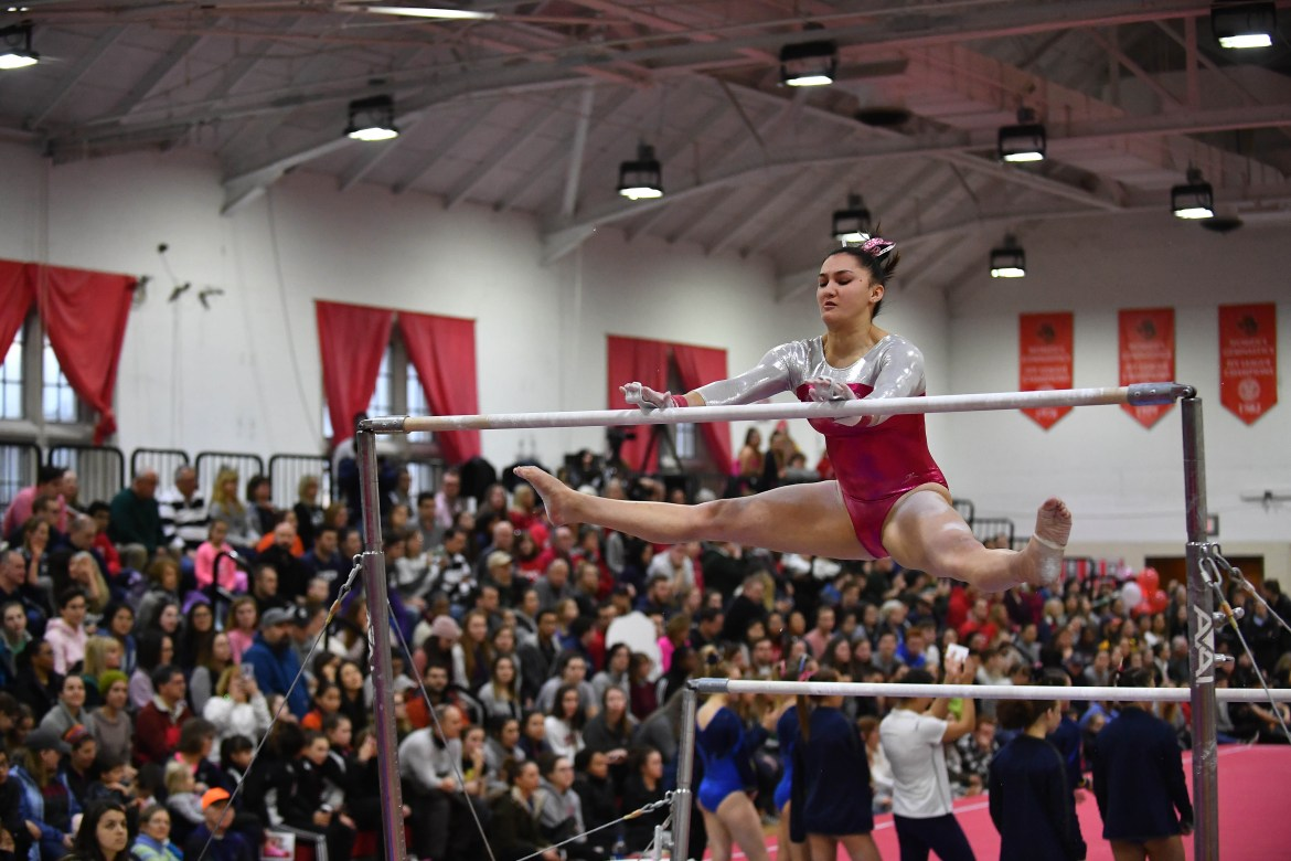 The Red placed fourth in the ECAC Championships, but individual performances showcased the capabilities of Cornell gymnasts.