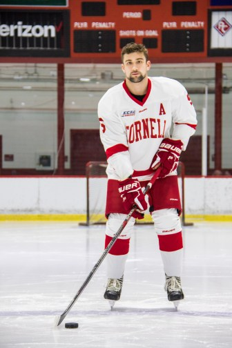 Nuttle never played the penalty kill before coming to Cornell. Evolving into a defensive defenseman quickly became his niche.