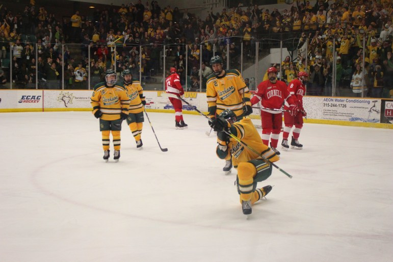 Clarkson scored the game's first goal, a first-period tally on the power play.