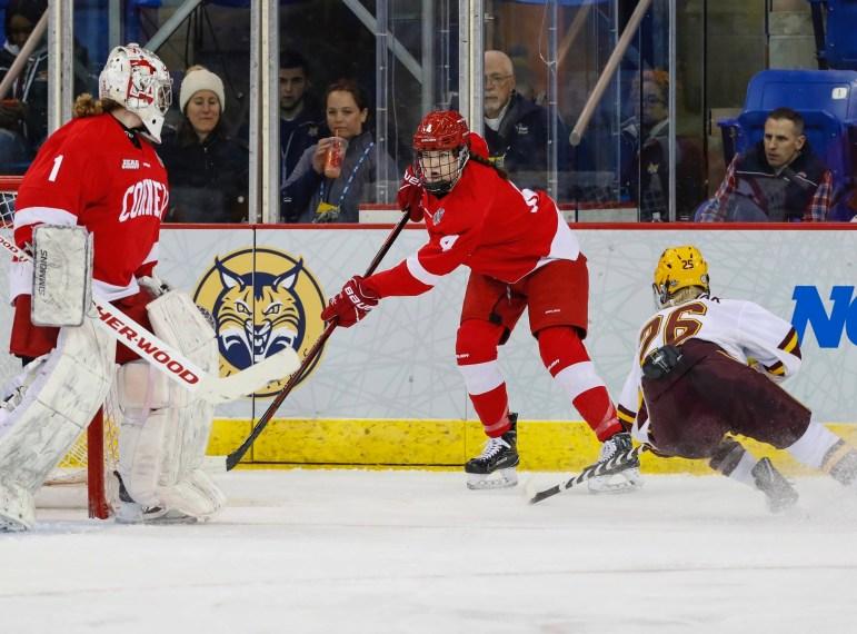 Minnesota handed Cornell a season-ending loss Friday.