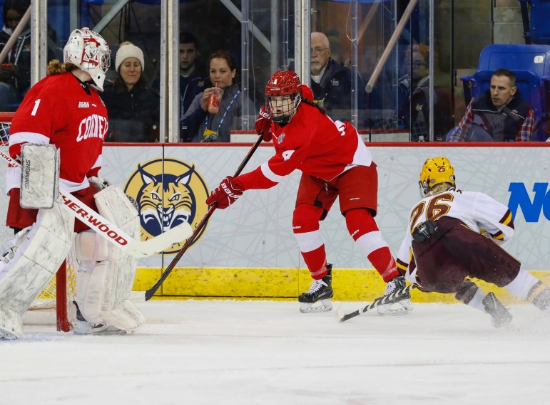 The Red ran into a formidable Minnesota in the Frozen Four.