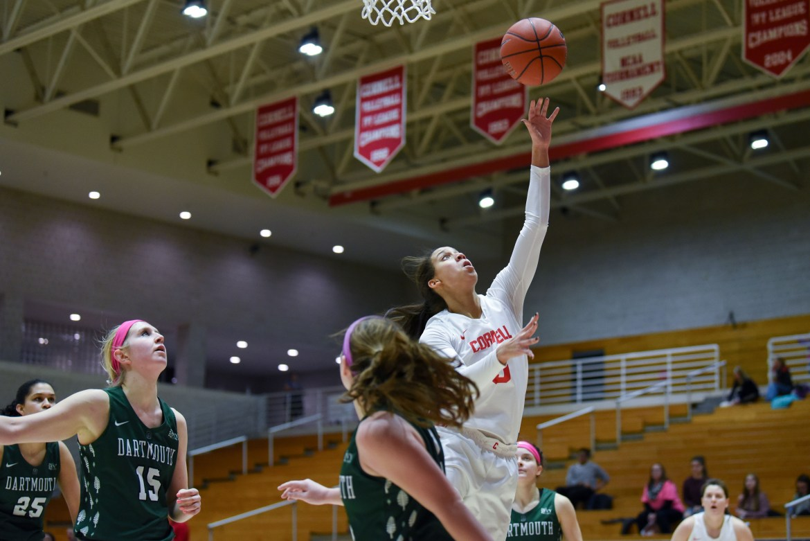 The Red avenged a February loss to Dartmouth on its way to punching a ticket for the Ivy League Tournament.