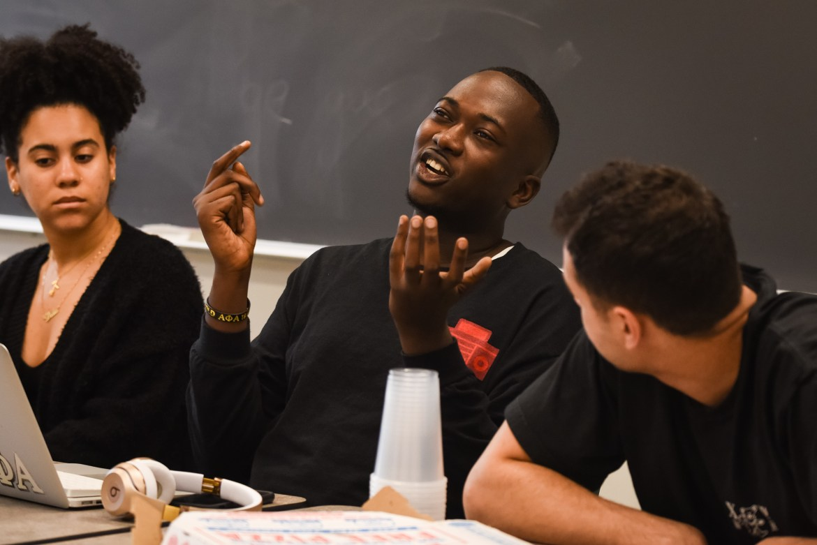 Cornell Hip Hop Heads discuss topics, such as Lil Nas X, at last week's meeting.