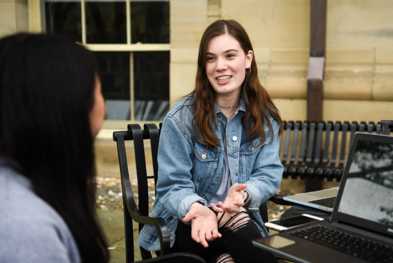 Josette Barrans is a government major whose studies focus on womens rights. She was inspired by her studies to donate her proceeds to Planned Parenthood.