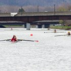 Lightweight rowing's top three boats topped Princeton's to win the Platt Cup.