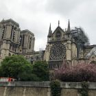 Notre Dame Cathedral after the fire.