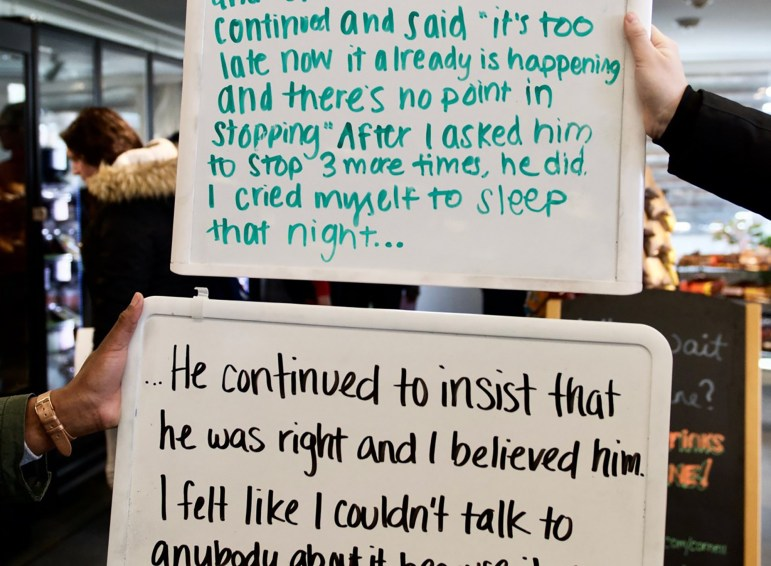 Sexual assault survivors submitted confessions about their experience and trauma last year.