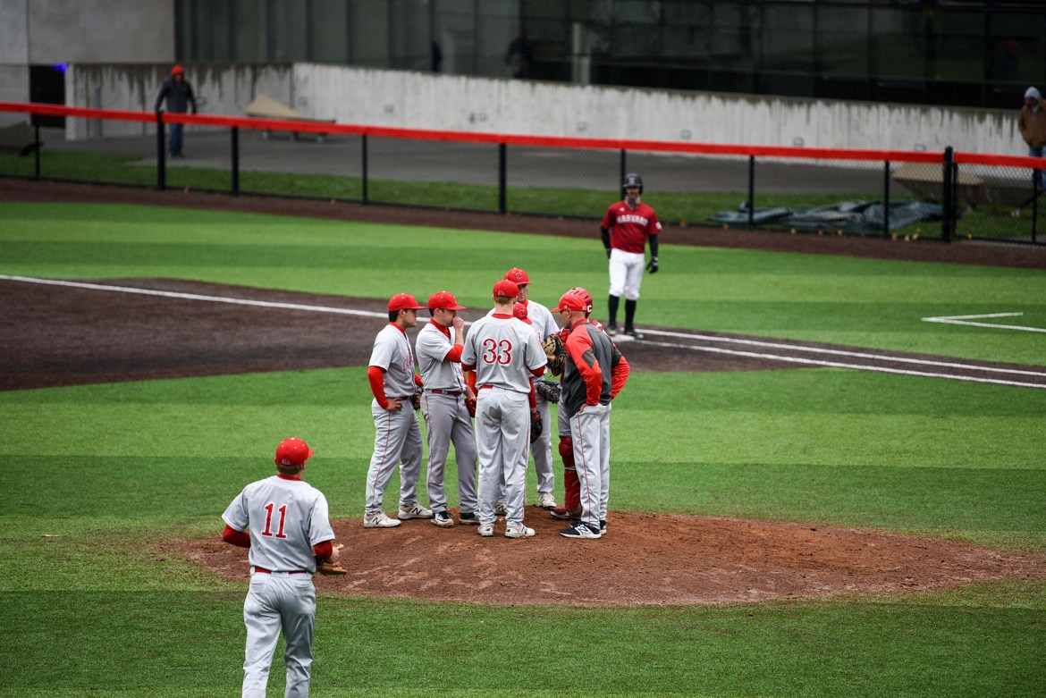 The Red employed dominant pitching and flawless defense to avoid being swept a second time in two weeks. Cornell hopes its game-three performance will prove to be the turning point in a season that has been frustrating so far.