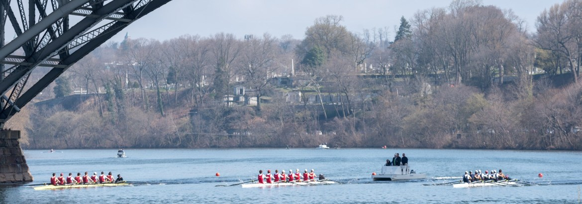 Cornell's top three lightweight boats topped Princeton's to win the Platt Cup.