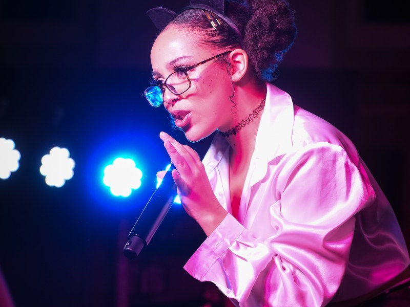 Doja Cat takes the stage at Risley Hall.