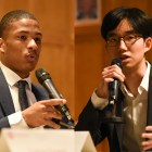 JT Baker '21 (left) is expected to serve on the Cornell Board of Trustees with Jaewon Sim '21 (right) starting July.