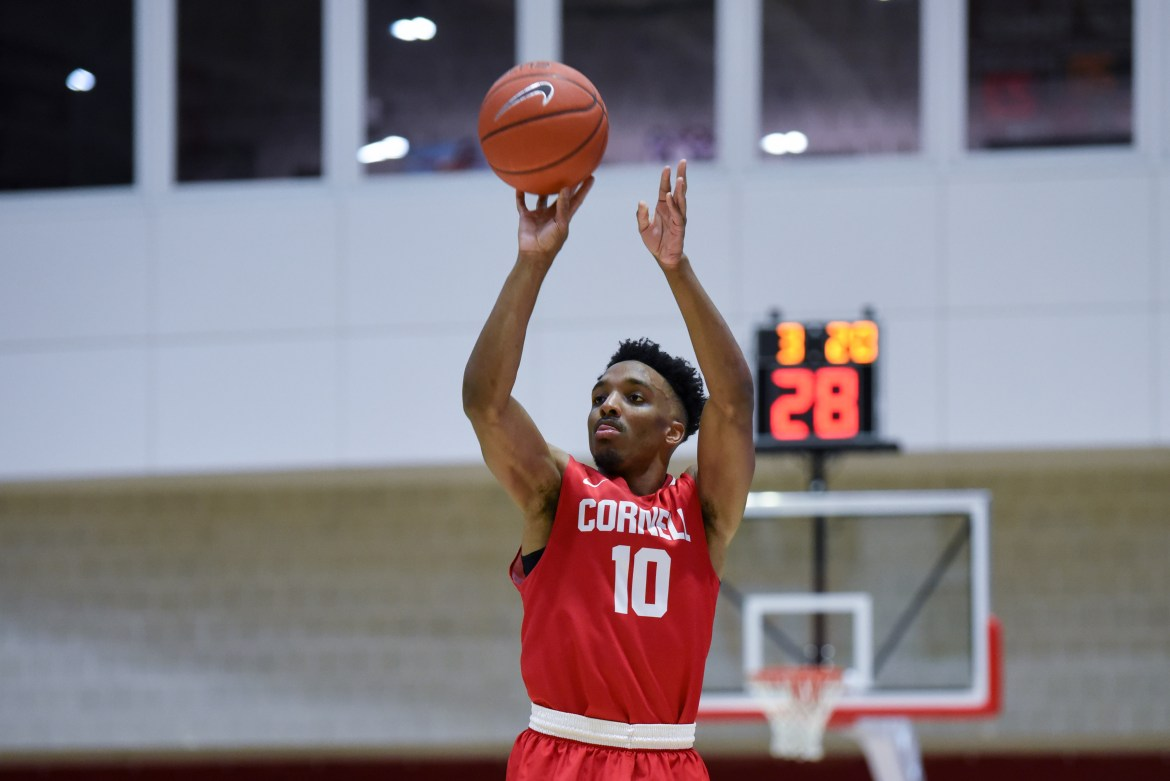 Matt Morgan '19 broke Cornell men's basketball's all-time scoring record and was a four-time All-Ivy League selection.
