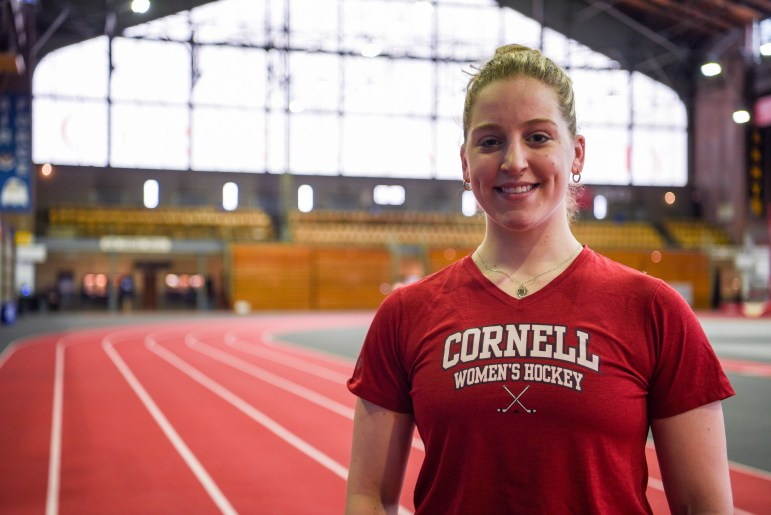 After backstopping Cornell to the Frozen Four, Marlène Boissannault is The Sun's top female senior athlete.