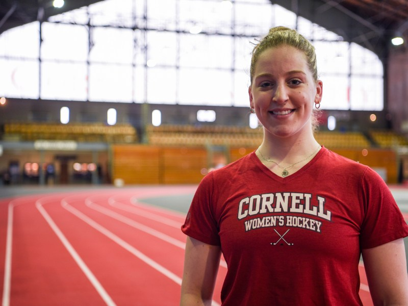 Boissannault was the formidable presence in net that helped Cornell women's hockey reach its first Frozen Four since 2012.