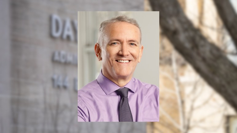 Jonathan Burdick will be the new Vice Provost of Enrollment.