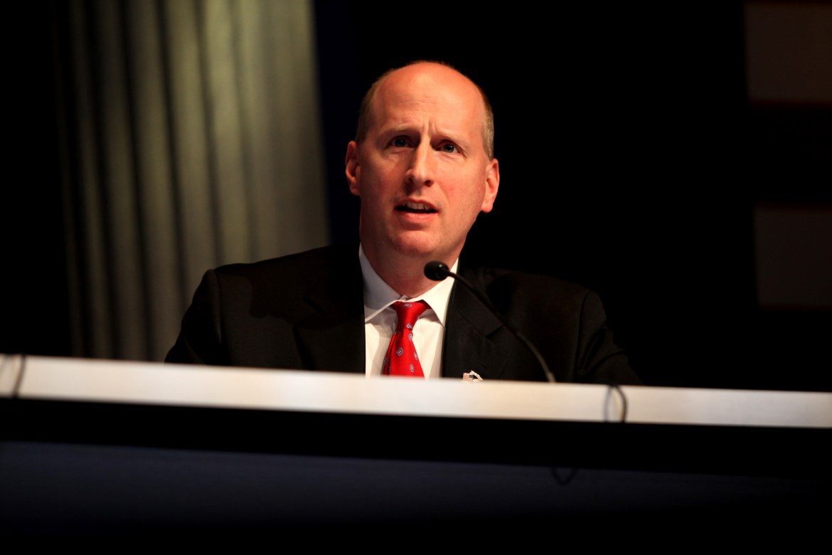 David French speaking at the 2012 CPAC in Washington, D.C.