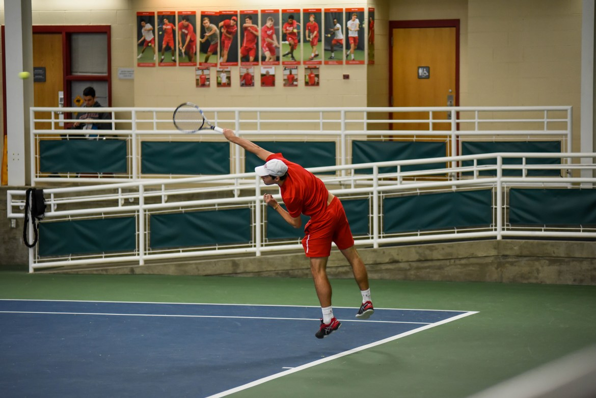 As a whole, men's tennis achieved several noteworthy victories at its latest tournament.