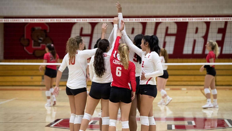 Cornell volleyball is on a 6-match winning streak.