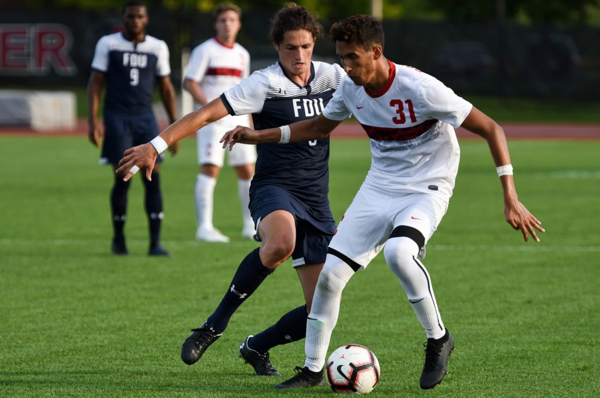 The Red claimed a one-goal victory over its upstate rivals in the 69th minute.