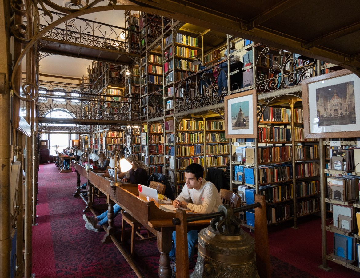 Built in 1891, Uris Library has been a prominent feature of campus for centuries. Now, Cornell is looking at making renovations to the building along with Olin Library in order to help serve students in a modern context.
