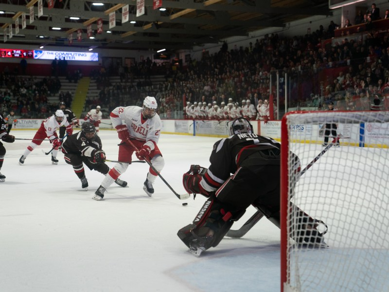 Senior forward and captain Jeff Malott has been a key piece of the Red's fourth line through three games this season.