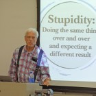 Prof Sternberg criticized the commonly held western views of intelligence.