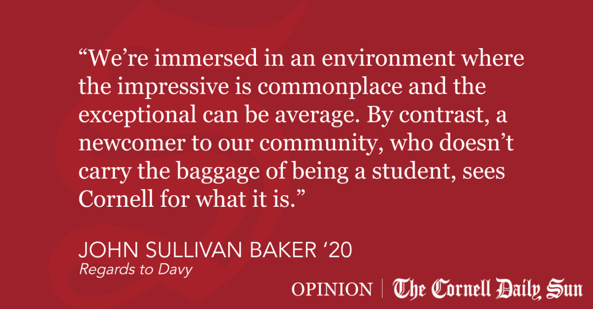 SULLIVAN BAKER | Be a Tourist at Cornell