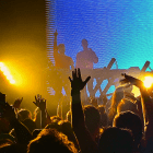 """Loud Luxury performs a remix of La Roux's """"Bulletproof"""" at the Westcott Theater in Syracuse on Nov. 14, 2019."""