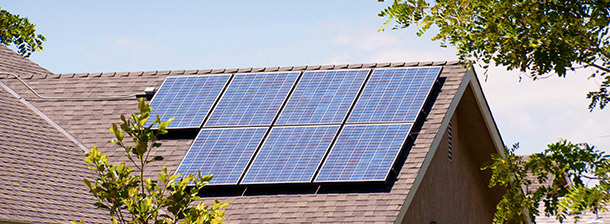 Photovoltaics on residential home