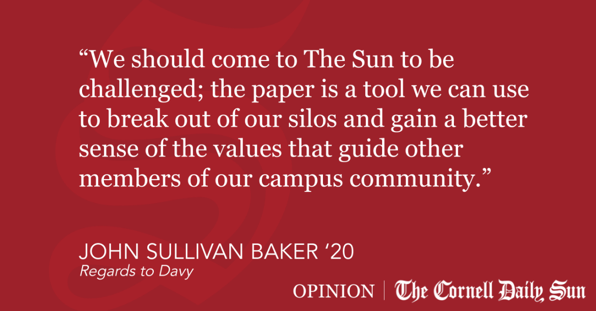 SULLIVAN BAKER | In Defense of Hot Takes in The Sun