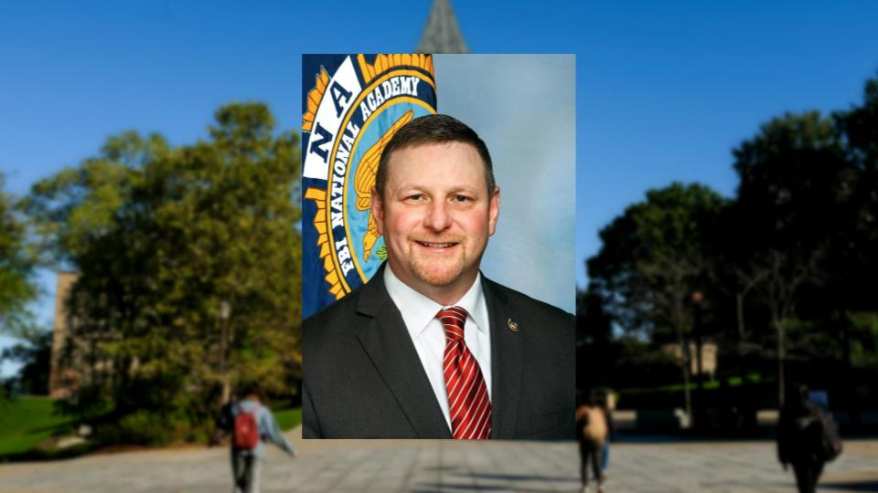 Montesano is the third officer from Cornell to graduate from the FBI National Academy.