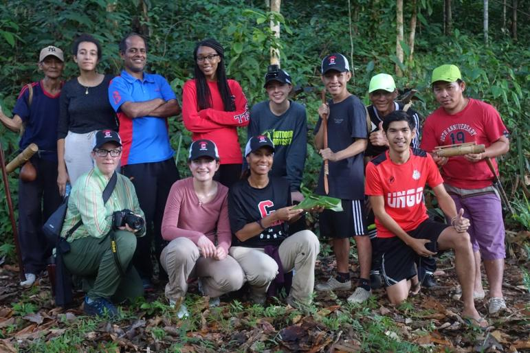 Allred led her students on an experiential learning trip to Borneo, Malaysia.