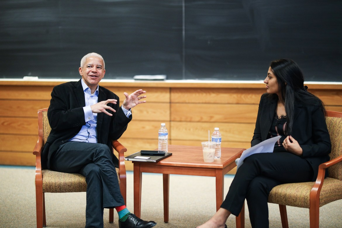Marc Lacey discussed his career in journalism at Cornell and the New York Times on February 10, 2020