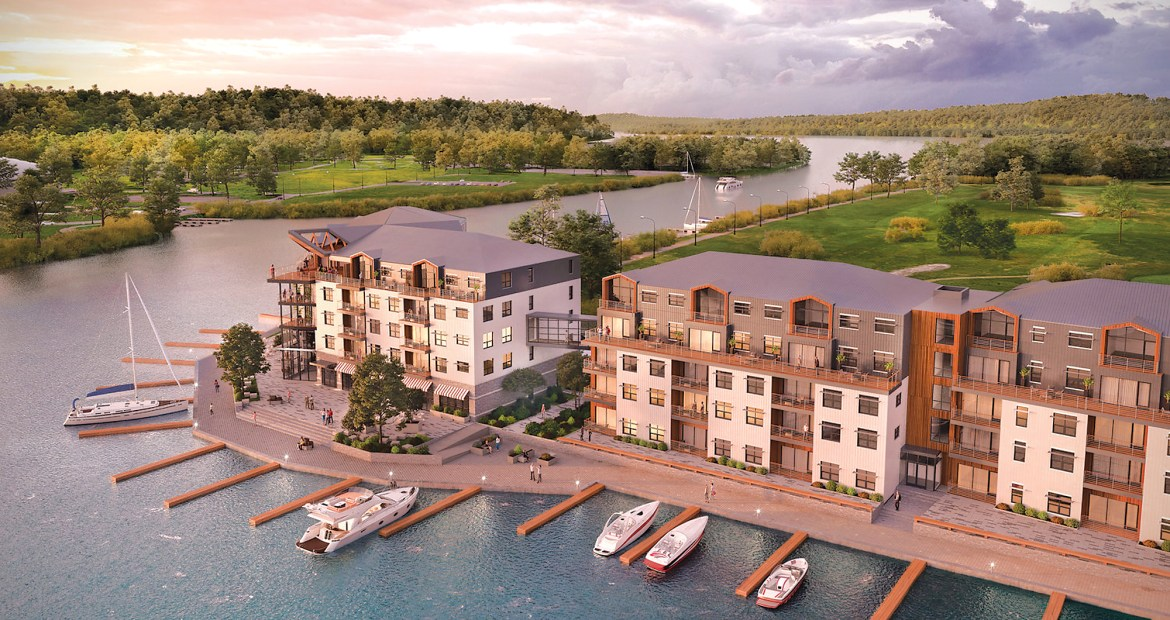 The newest waterfront development — City Harbor, a 158,000 square foot housing complex — is slated to break ground soon.