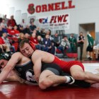 On senior day the Red brought down the Bearcats at the Friedman Wrestling Center.
