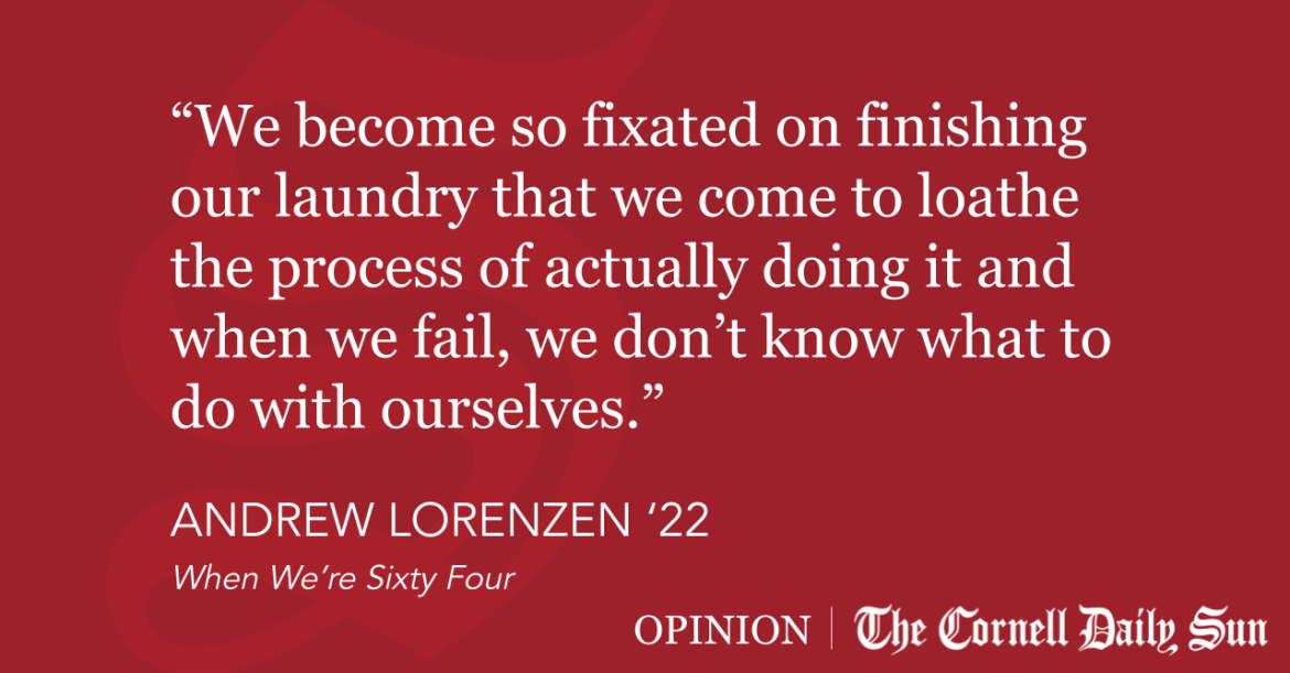 LORENZEN | Laundry: A Parable for the Ivy League
