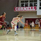 Cornell's first-ever win at Harvard also ended the Red's eight-game losing streak.