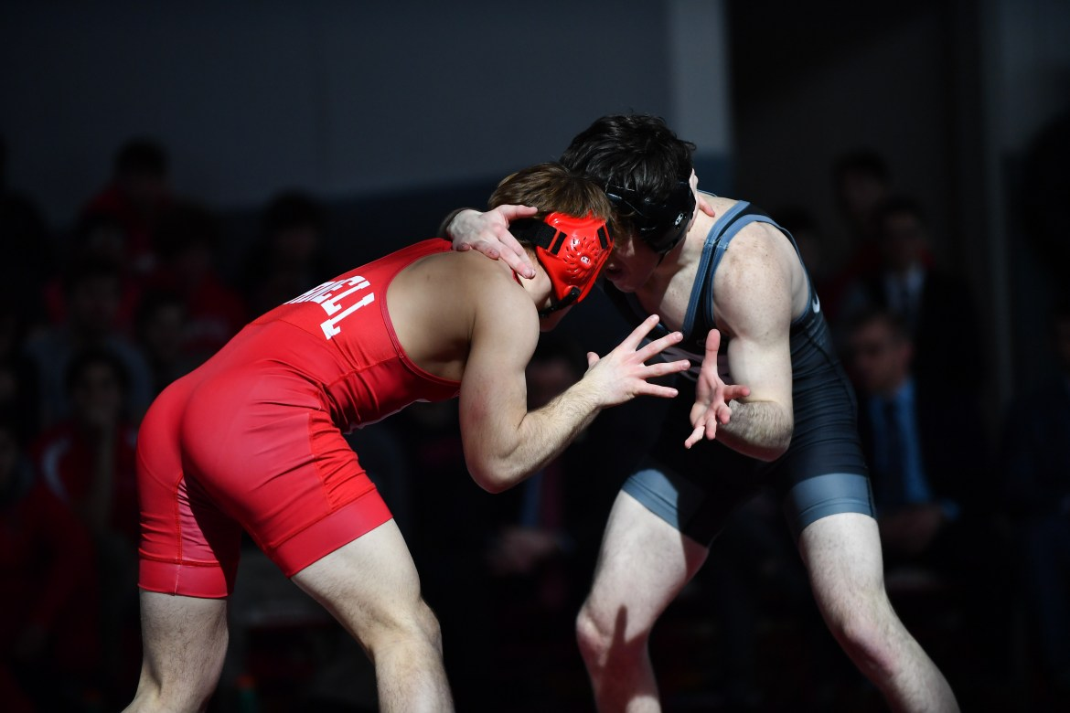 Cornell, the No. 18 team in the nation, boasts eight All-Ivy wrestlers.