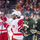 Cornell affirmed its status as the top team in the ECAC after a 5-1 victory over Clarkson in the regular-season finale.