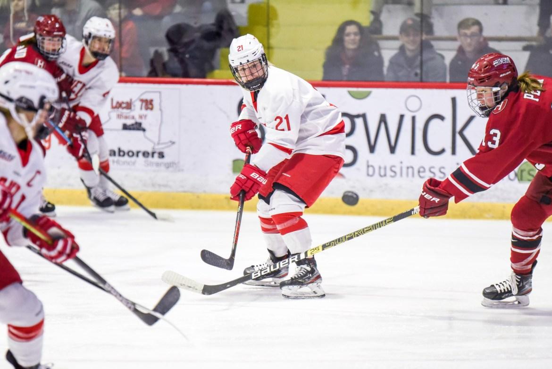 Cornell previously swept Mercyhurst in the regular season.