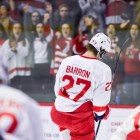 No Cornell player has ever won the Hobey Baker Award, but Morgan Barron will seek to buck that trend.
