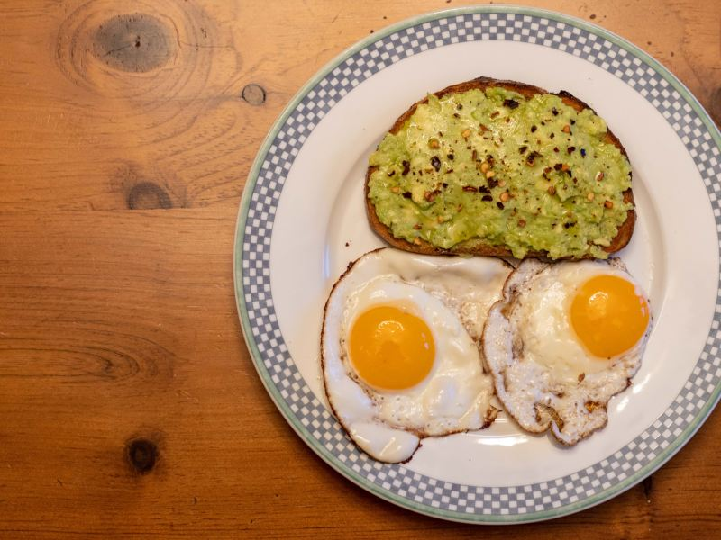 Avocado toast (Ben Parker/Sun Assistant Photography Editor)