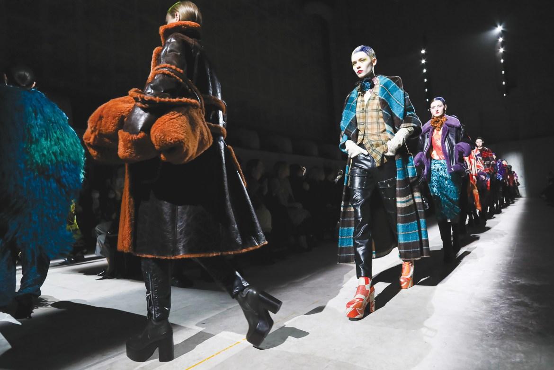 Dries Van Noten presents his Fall 2020 show in Paris.