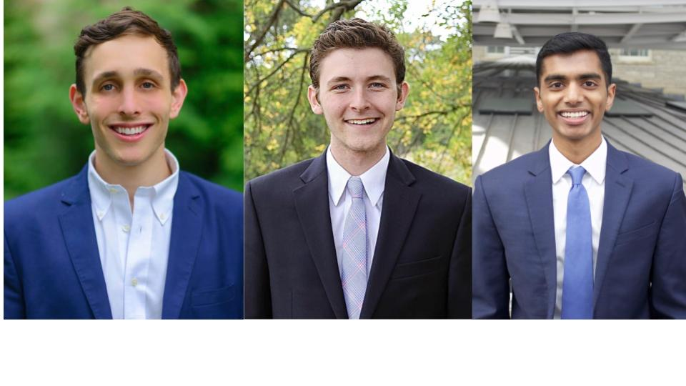 Jonathan Epstein, Ethan Geller, Josh Thomas