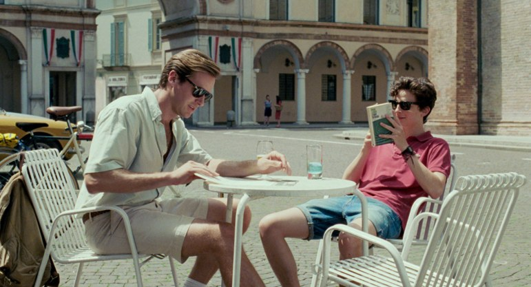 """The story of """"Call Me by Your Name,"""" starring Armie Hammer and Timothee Chalamet, takes place in Bergamo, Italy."""
