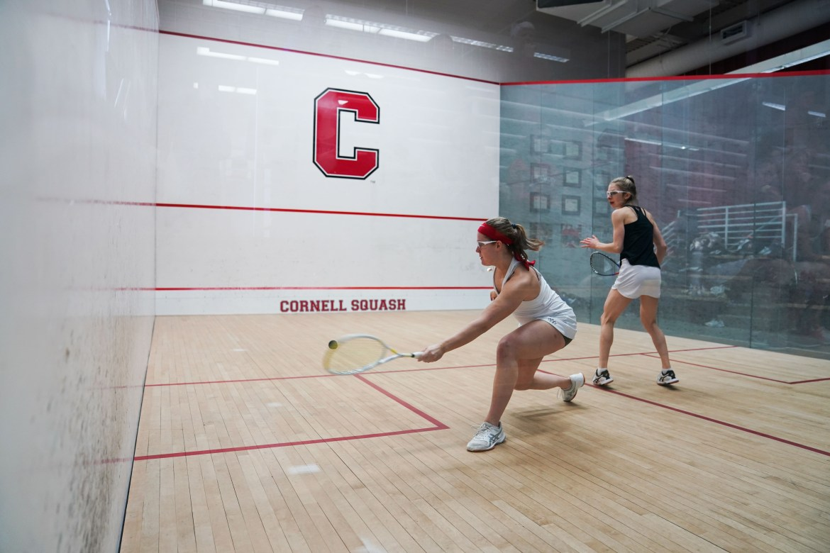 The Cornell women's team gave a strong performance in the CSA individual championships.